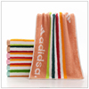 microfibre quick dry beach towel with elastic band and pouch mesh bag for supermarket wholesales