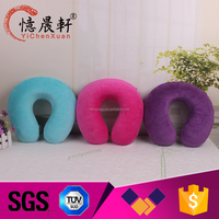 Supply all kinds of toy neck pillow,travel neck pillow kit,soft christmas gift neck pillow animal