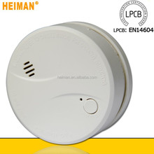 10 year battery operated smoke detector with NF VDS EN14604