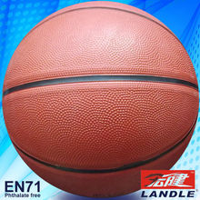 good new official size new style rubber made light material rubbery basketball