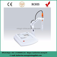 Benchtop digital ph meter for water with ORP/Conductivity/TDS meter