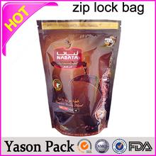 Yason ziplock medical pill dispenser bag scooby snax herbal kush tobacco foil packaging ziplock bags zipper grape bags