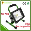 Rechargeable RGBW epistar waterproof dc 12v led rgb flood light 30 watt