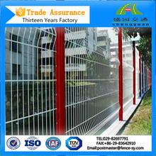 Metal galvanizado de acero cuadrado valla postes de las esquinas de venta