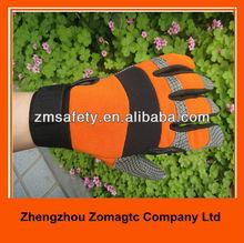acolchado guantes de mecánico para la herramienta