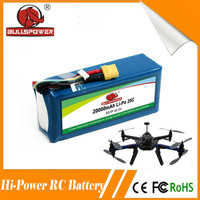 High power 60c 22.2v 20000mah rechargeable ge power rc lipo 6s battery