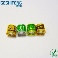 free shipping high quality 8mm 300pc with star Pakistan flag moon any photo letters on rings