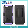 New!!!!!!unique design T shape kickstand case for iphone 6 plastic cases / purple protector case for iphone
