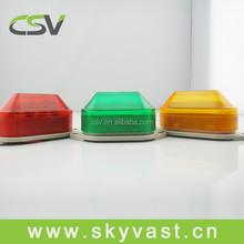 CE certificate tower warning lights IP30 strobe car lighting colorful mini led lights