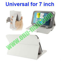 Armband Leather Case for 7 inch Tablet PC with Buckles