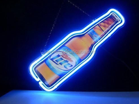 2015 acrylic frame Logo Beer Bar Pub Store Display Neon light box for ring box with led light