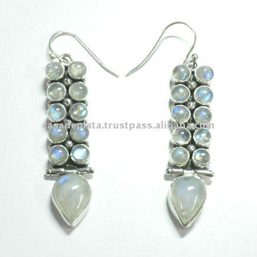 Mais recente valiosos de prata brinco, modelo de brincos da forma, jóias de prata