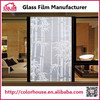 Bamboo patterned pvc self-adhesive window glass protective film
