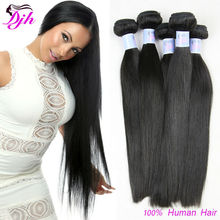 Wholesale factory price 100% Virgin Hair Extension 7a Brazilian Silky Straight Brazilian Human Hair Weave, Brazilian Virgin Hair