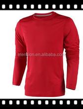 Custom Brand Blank Black Mens Polyester tshirts For Sport Training