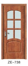 2015 price for china pvc mdf wooden interior frosted glass door models for bedroom doors