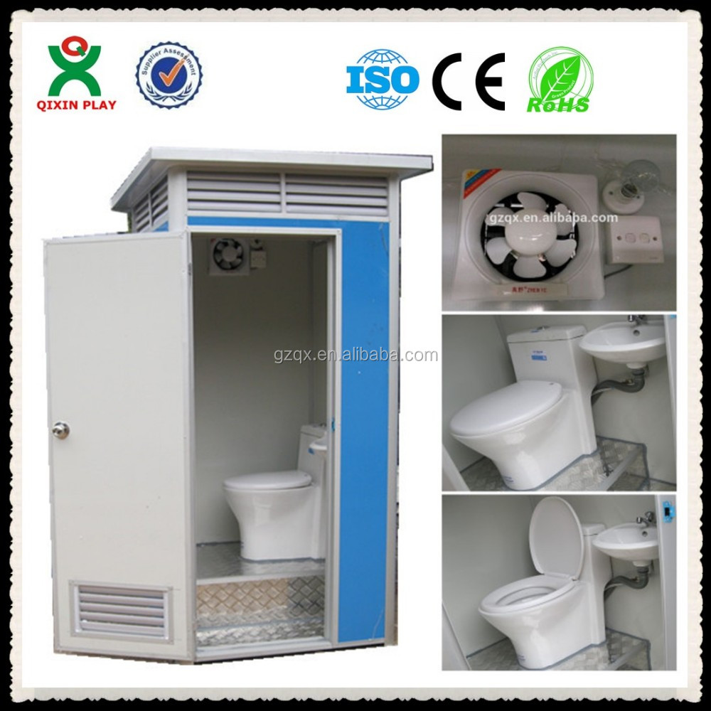 Guangzhou Factory Mobile Trailer Toilets For Sale Coloured