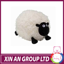 2015 OEM cute design plush stuffed goat&lamb hand puppet