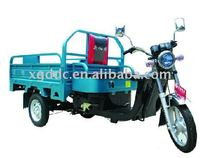 Electric trike for cargo. loading