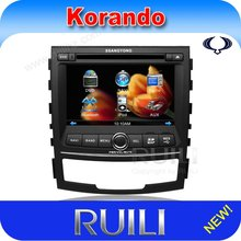 ssangyong korando car multimedia and enertainment navigation system