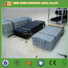 1.58kg/m Galvanized/ Black Y Fence Post/ Y star picket/Y Type post from directly factory