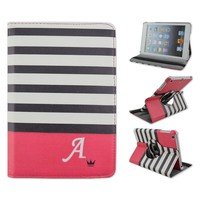 Diadem&Wave Rotating Flip Turn Stand PU Leather Cover, Tablet Case For Apple iPad 2/3/4, For iPad air, For iPad mini1/2/3