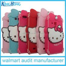 All Smart Phone Compatible Brand and Silicon Material Cell Phone case