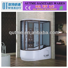 Shower room&shower enclosure&shower cabin& Unique Wood Design 2 Big Size 900*1500/1700