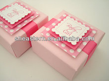 Wedding party favors candy boxes