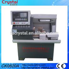 mini afición económico torno cnc para el metal CK0620A