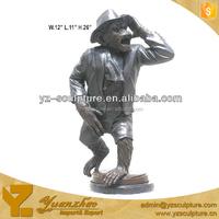 lovely life size garden cast brass gorilla statue for sale