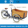 UB9032 3 wheel cargo tricycle for family