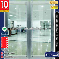 Good quality Glass Entry Door for Commercial Use
