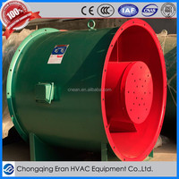 Vortices tunnel ventilation system exhaust mechanical axial blower