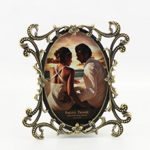 2015 Top Selling Funny Photo Picture Frames | Vintage Style Hollow Texture Photo Frame HQ070635-46