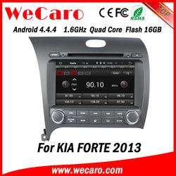 Wecaro WC-KU8051L Android 4.4.4 car stereo 1024 * 600 for kia forte radios WIFI 3G 16GB Flash 2013 2014