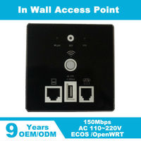 Walls Embedded Wireless AP Router Wireless WIFI USB Charging Socket Panel