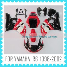 Injection mold ABS Custom Fairing For YAMAHA R6 98 99 00 01 02