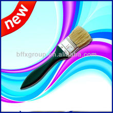 1 1/2'' green wooden handle paint brush