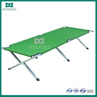 Cot bed aluminium military cheap folding bed