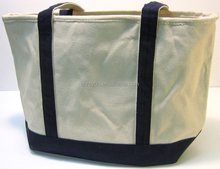 Hot Sale Blue Natural Extra Large Heavy Canvas Tote Bag