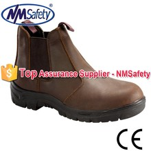 NMSAFETY leather shoes for men/genuine leather shoe