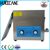 Dental filter ultrasonic cleaning