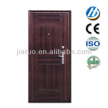 Puerta de entrada de acero de seguridad