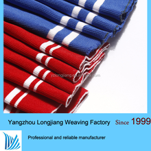 100% polyester needle rib soft hand feel needed in Jersey