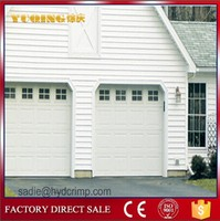 YQG-01 window inserts sectional garage doors sale,cheap garage doors panels price