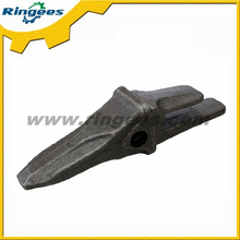 High quality excavator forged bucket tooth and tooth holder, professional forged bucket teeth holder supplier