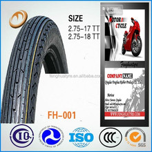 good quality best service tire casing type motorcycle tyre 2.75-18