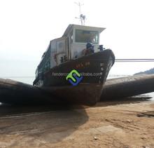 Sotck airbags pneumatic marine ship launching airbag export to Batam shipyard