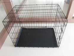 different sizes iron wire foldable dog cage